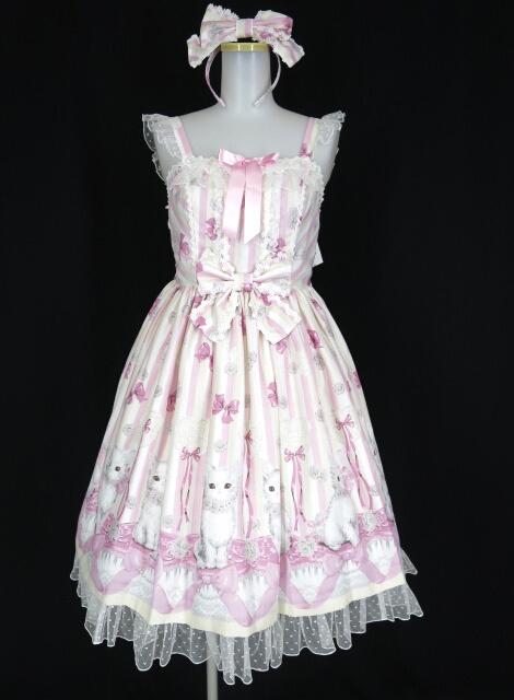 Angelic Pretty Fleur Cat SpecialジャンパースカートSet