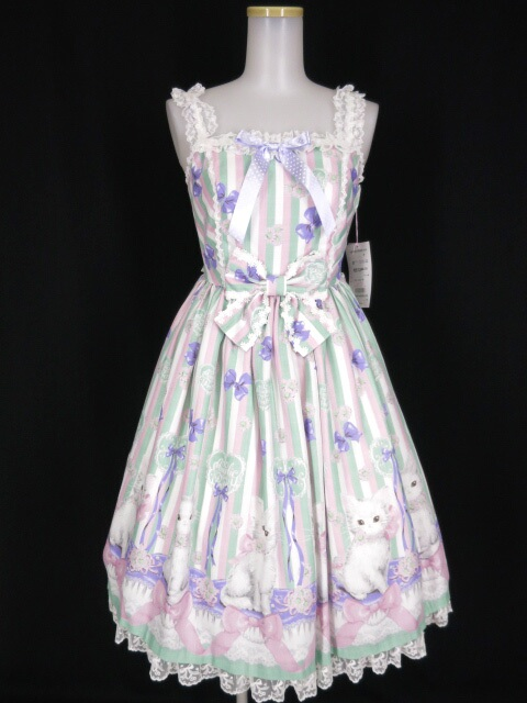 Angelic Pretty Fleur Catジャンパースカート