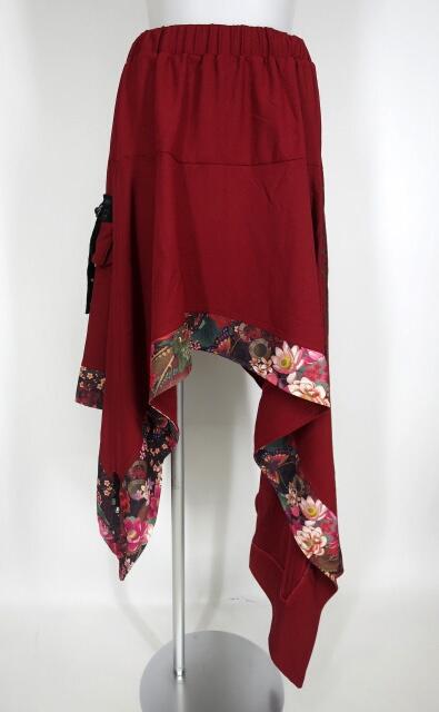 Qutie Frash サイドロングアシメスカート