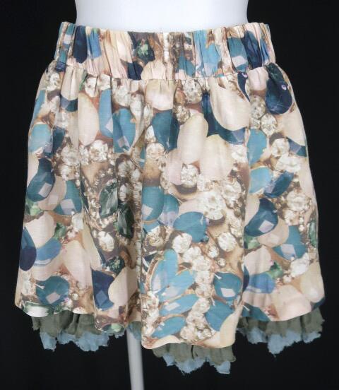 Jane Marple Dans Le Salon 宝石柄ミニスカート