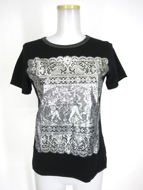 Jane Marple Dans Le Salon 天使柄レースプリントTシャツ