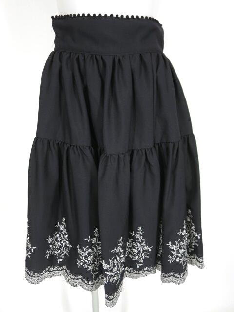 Fairy Wish クラシカル刺繍スカート