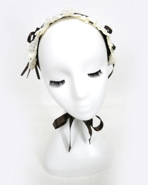 Innocent World 巻きバラ付きヘッドドレス