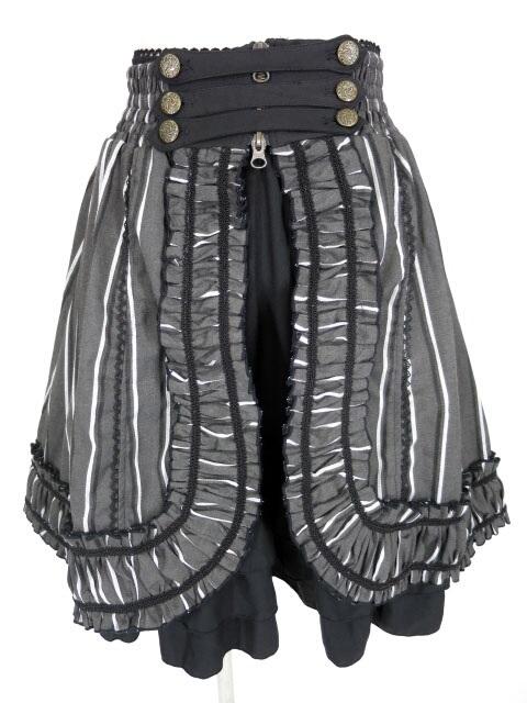 OZZ ONESTE レジメンタルストライプスカート