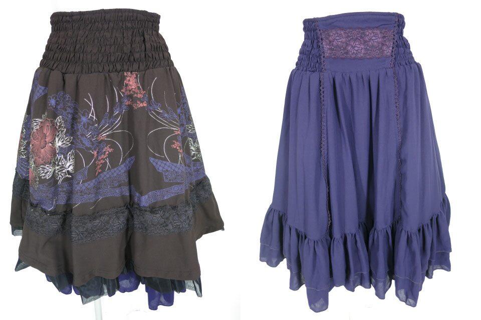 OZZ ONESTE 和柄リバーシブルボリュームスカート