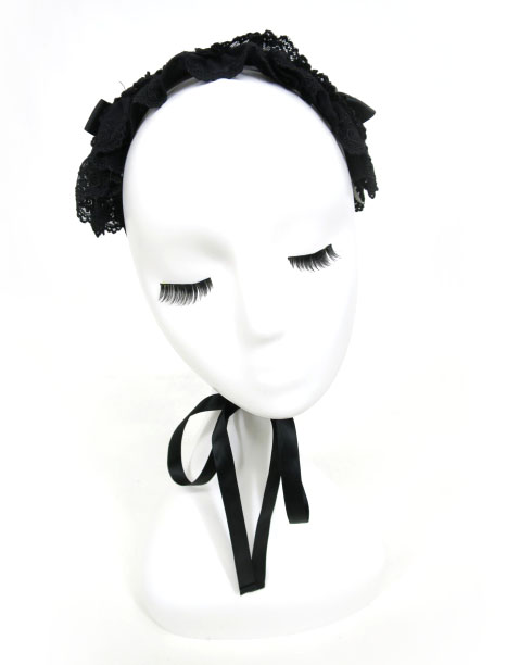 Metamorphose チュールレースヘッドドレス