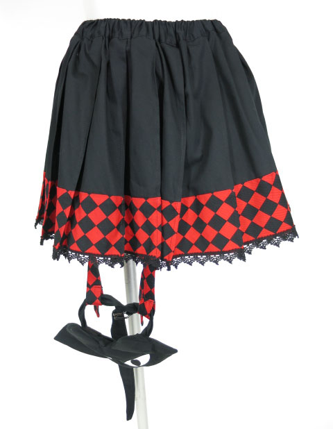 MA マジカルジュピリン ガータープリーツスカート