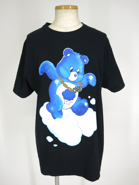 LAND by MILK BOY CARE BEARS HIPHOP Tシャツ&缶バッジ セット