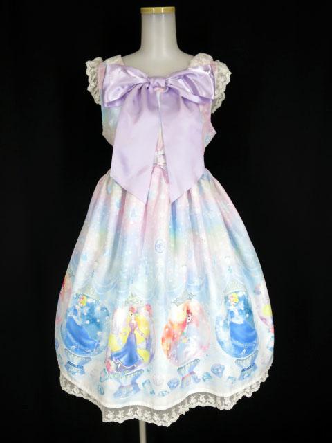 Angelic Pretty×Disney Fairy Seasonディズニープリンセスジャンパースカート