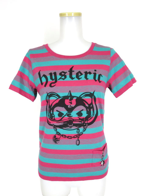 HYSTERIC GLAMOUR ボーダーTシャツ