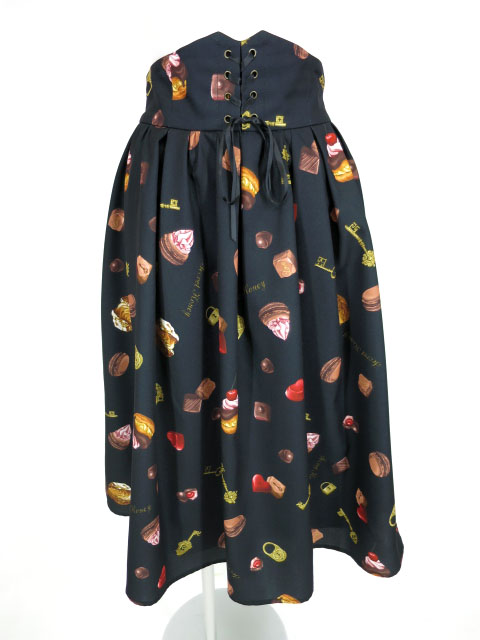 Secret Honey チョコレート柄スカート