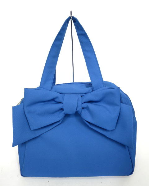 Jane Marple リボンのボストンバッグ