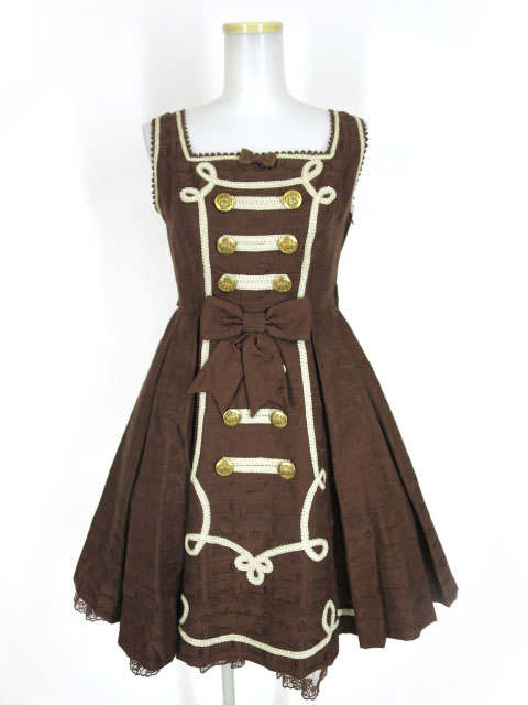 Angelic Pretty Melty Whip Chocolateジャンパースカート