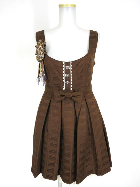 Angelic Pretty Royal Chocolateラウンドジャンパースカート&ソックス