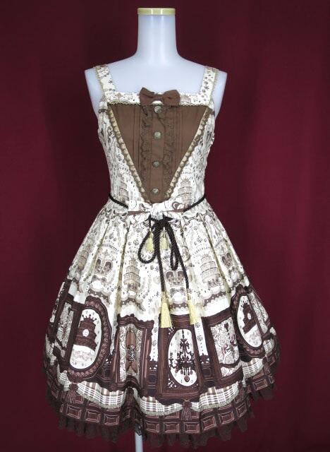 Angelic Pretty Musee du Chocolat切替ジャンパースカート