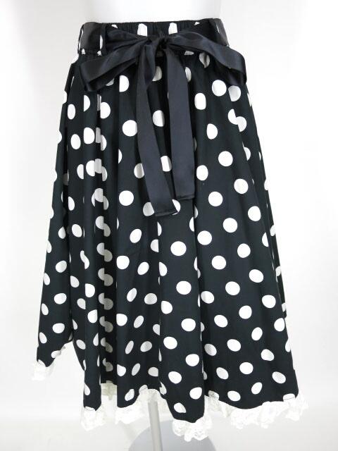 Metamorphose 水玉サーキュラースカート