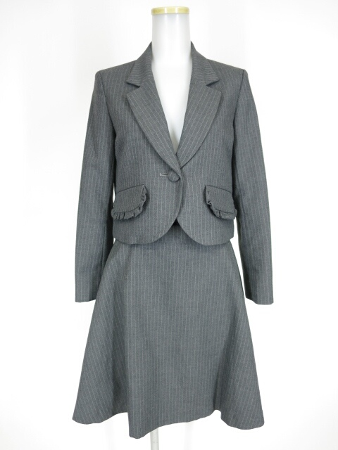 MILK プチフリルジャケット&スカート スーツ
