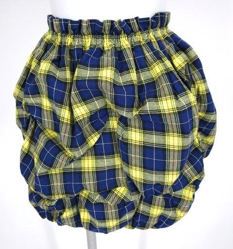 alice auaa タータンチェックバルーンスカート