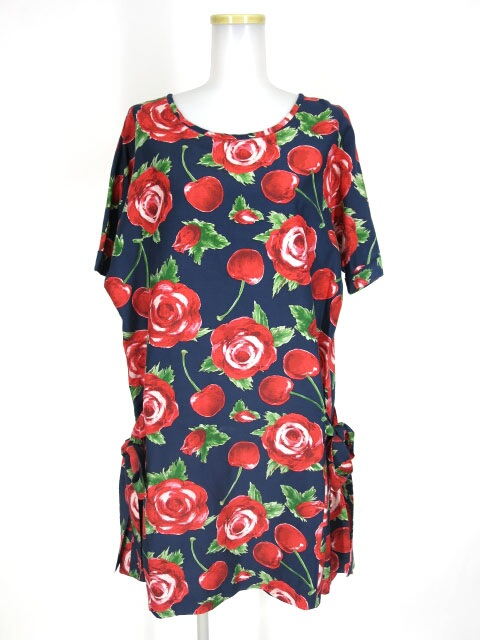Jane Marple Rose meets Cherryのフラッパードレス