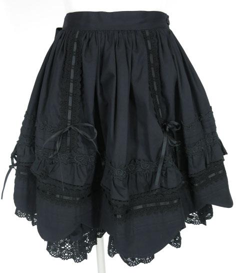 BABY, THE STARS SHINE BRIGHT 裾スカラップスカート