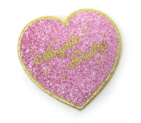 Angelic Pretty Love Heartラメクリップ