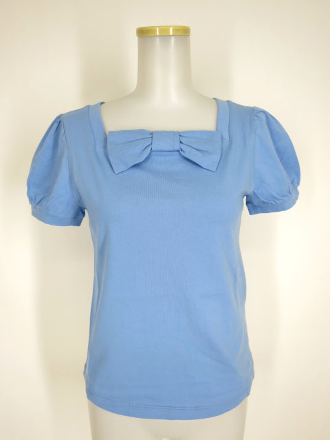Jane Marple リボンモチーフのTシャツ