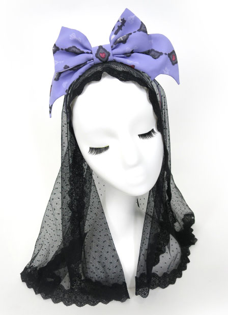 Angelic Pretty Ghost Night Bride カチューシャ