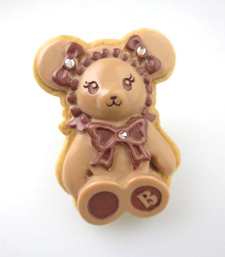 BABY, THE STARS SHINE BRIGHT くまくみゃちゃんのチョコクッキーリング