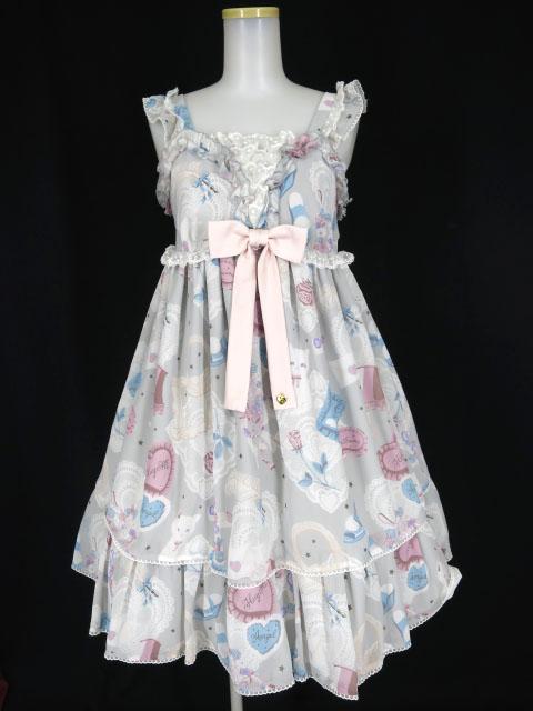 Angelic Pretty My Favorite Roomジャンパースカート&ヘアバンド セット