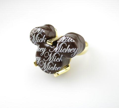 Q-pot.×Disney ミッキーマウス プチチョコレート リング