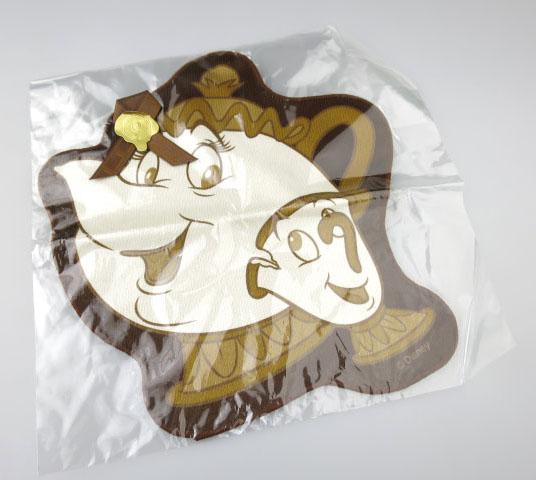 Q-pot.×Disney 美女と野獣 ミセスポット&チップ シュガークッキータオル