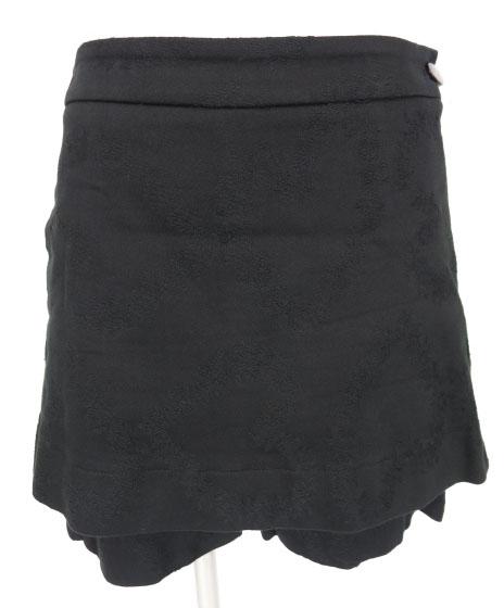 Vivienne Westwood RED LABEL オーバースカート付きハートジャガードショートパンツ