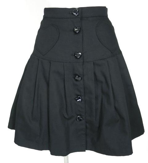 MILK ツインハートスカート