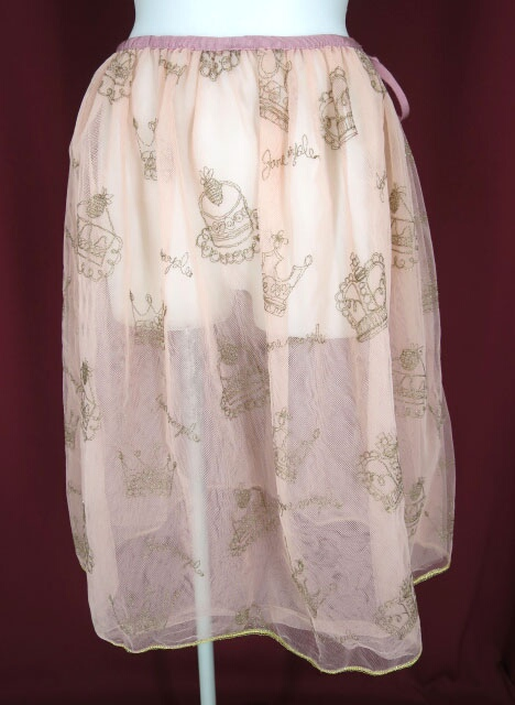 Jane Marple 王冠&ケーキ刺繍チュチュスカート