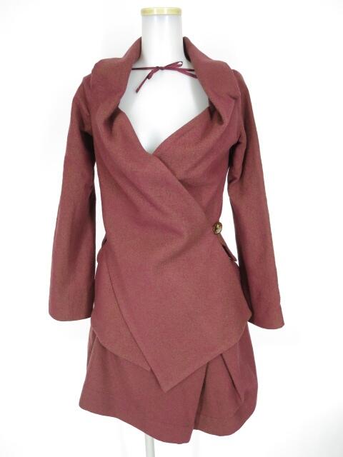 Vivienne Westwood RED LABEL ウールジャケット&スカート セットアップスーツ