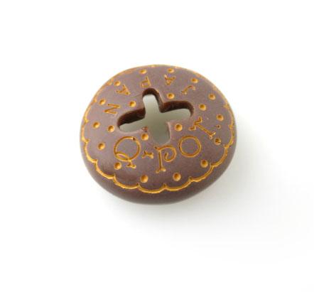 Q-pot. チョコレート ビスケットベレー帽 チャーム