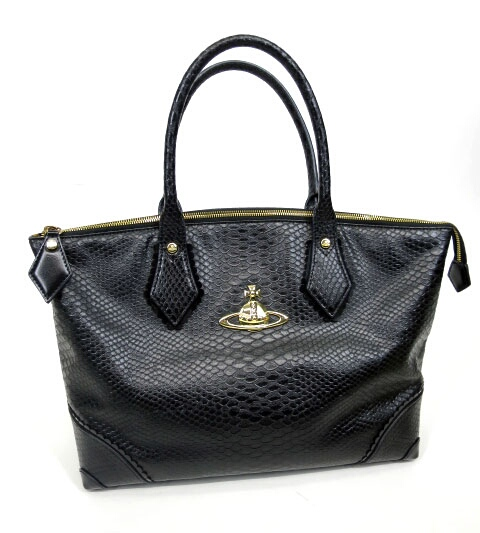 ANGLOMANIA Vivienne Westwood パイソントートバッグ