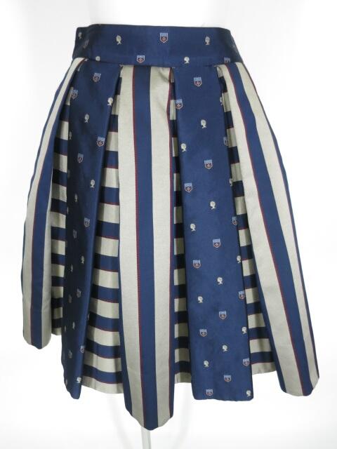 Jane Marple エンブレムジャガードのスカート