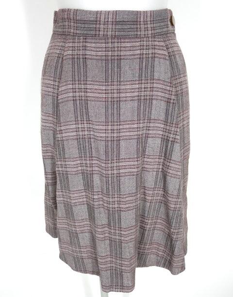 Vivienne Westwood RED LABEL チェック柄スカートパンツ