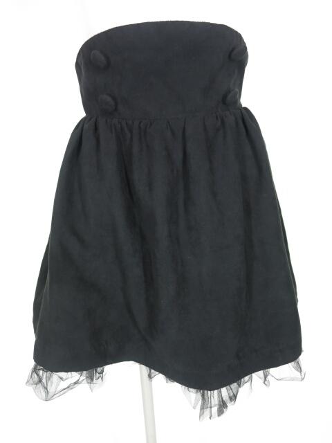 SEXY DYNAMITE 裾チュール付きスカート
