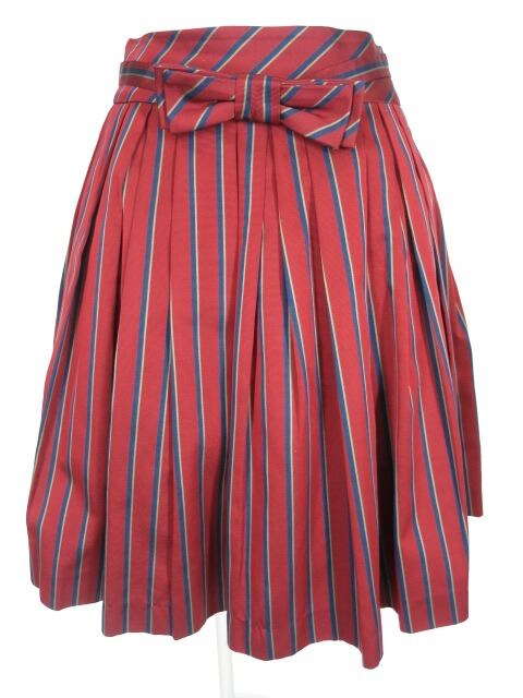 Jane Marple レジメンストライプスカート