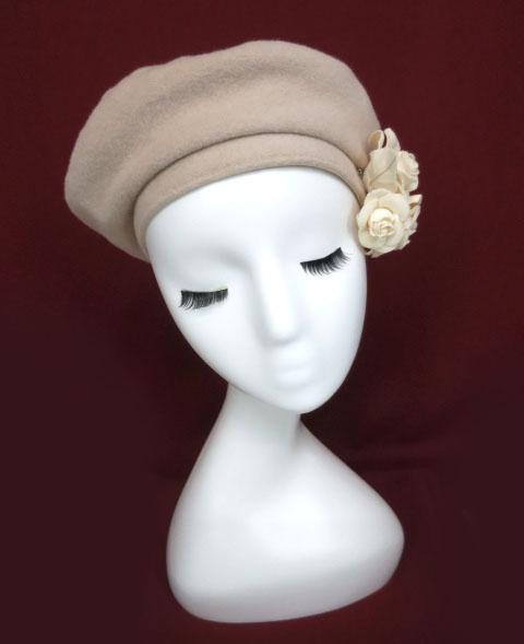 Mary Magdalene アマンディーヌベレー帽