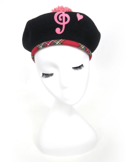 Shirley Temple 音符ベレー帽