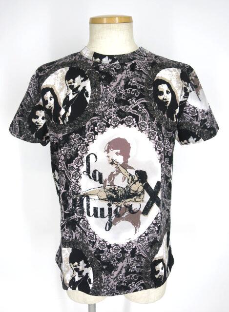 JPG 人物 総柄Tシャツ