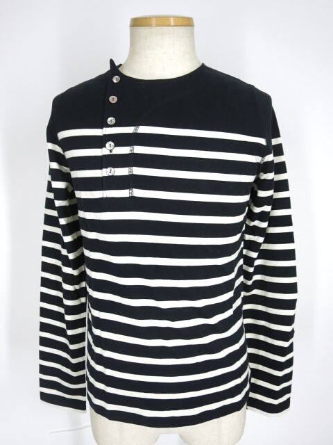Jean Paul GAULTIER HOMME ボーダー柄長袖カットソー