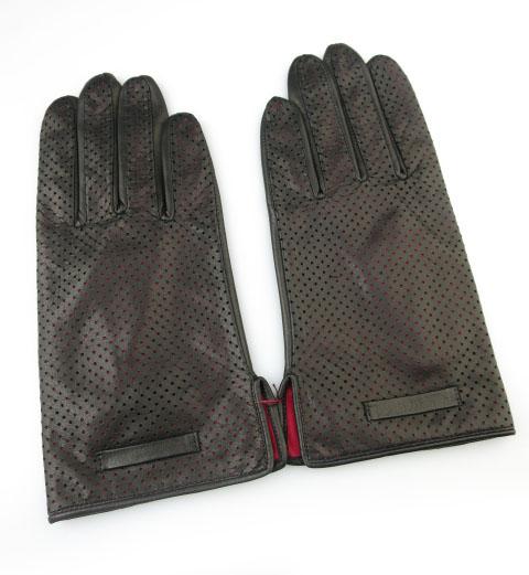 Jean Paul GAULTIER パンチレザー手袋