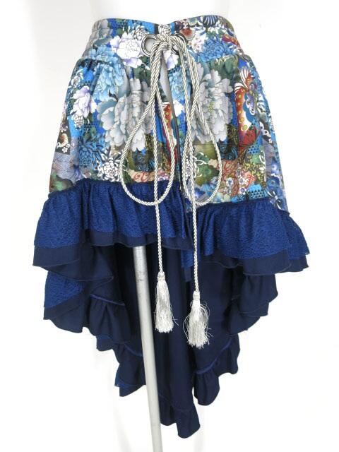Qutie Frash フリルラップスカート