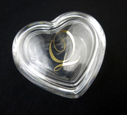 Q-pot. ハート型ガラスケース