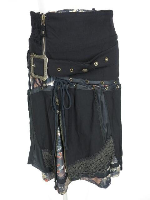 OZZ ONESTE 編み上げ付きセパレートスカート