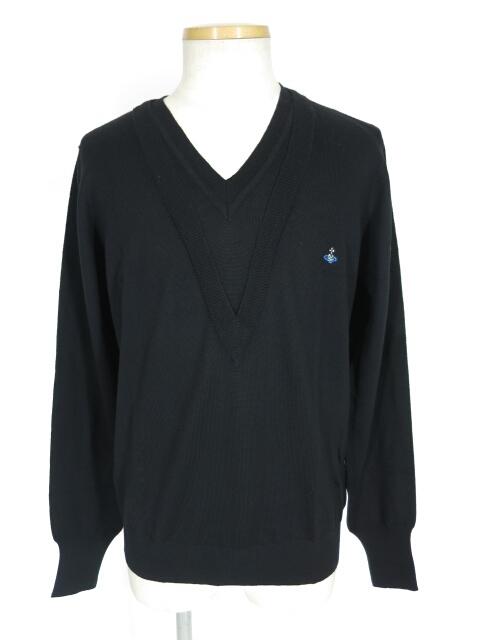 Vivienne Westwood MAN ダブルVネックニットセーター